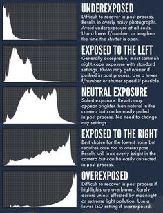 Understanding the Histogram and Adjusting Exposure - #photography #phototips
