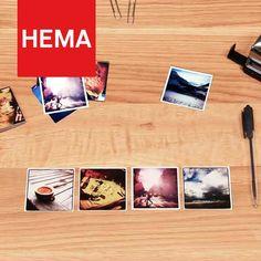 Bevrijd je foto's uit je telefoon of tablet en maak er een setje leuke afdrukken van. #mobileprint van de HEMA is een geweldig product. Ben er nu al verslaafd aan. Super gedaan HEMA! Nog steeds mijn nummer 1 foto winkel!