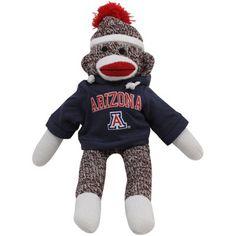 Wildcats Sock Monkey Graduation Sock Monkey University of Arizona NCAA Tucson Sock Monkey Arizona Sock Monkey Sock Monkey