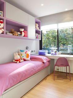 New Room Decor Quarto Feminino Pequeno Ideas Small Room Bedroom, Small Rooms, Girls Bedroom, Bedroom Decor, Bedrooms, Baby Annabell, Teenage Room, Girl Bedroom Designs, Home And Deco