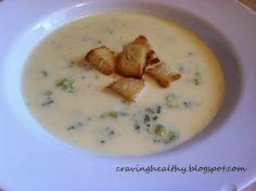 Broccoli-cheddar soup recipe