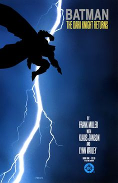 Batman: The Dark Knight Returns by Frank Miller >>> Greatest comic ever published, for mine. Yes, greater than Watchmen, and greater than The Killing Joke. (Sorry, Alan Moore.)