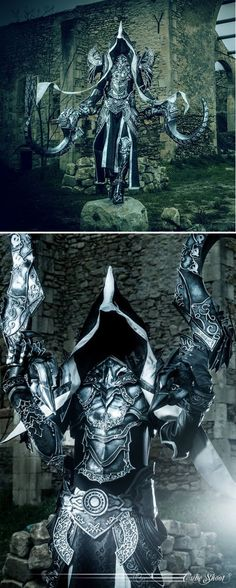 Epic Malthael from Diablo 3 by SakuraFlame's Cosplay