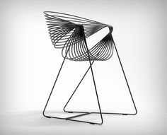 YD Handpicks: 10 inspiring works from A' Design Awards 2016-17! | Yanko Design Metal Furniture, Home Furniture, Modern Furniture, Furniture Design, Outdoor Furniture, Furniture Ideas, Metal Outdoor Chairs, Metal Chairs, Outdoor Balcony