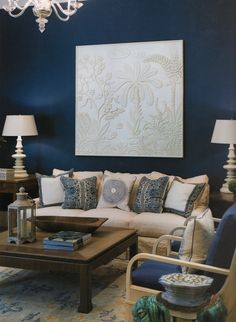 blue living room walls home interior designs 60 best navy for lounge images colors paint colours farrow why not try feature wall
