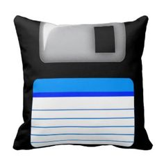 Totally Awesome 80s Cushion Designs - Floppy Disk