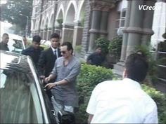 Saif Ali Khan and Kareena Kapoor reach Taj Hotel for their wedding reception party.