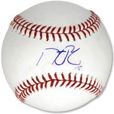 Autographed Baseball - Dustin Pedroia