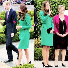 The Duke and Duchess of Cambridge greets the crowd in New Zealand, April 2014 #katemiddleton