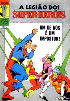 LEGIÃO DOS SUPER-HERÓIS - EBAL