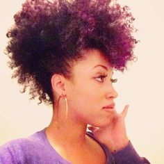 Throw it up, throw it up...  #naturalhair - @tarenguy- #webstagram