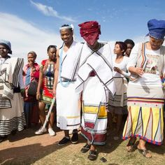 Traditional Xhosa wedding in Estern Cape