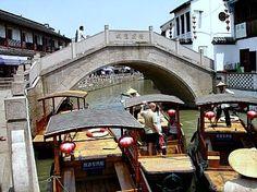Zhujiajiao Watertown in the outskirts of Shanghai
