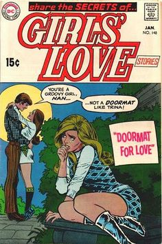 Romantic comics are a little known, forgotten genre of comics from around the 50's. They were like soap operas, but in comic book form.