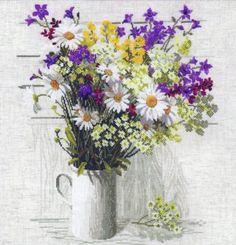 Вышивка Полевые цветы (Riolis)