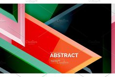 Mosaic Designs, Background Templates, Low Poly, Bar Chart, Marketing, Abstract, Illustration, Summary, Bar Graphs