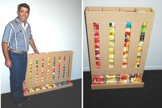 Rotating Storage Ideas | ... on solving the problem of rotating canned food. He has great ideas