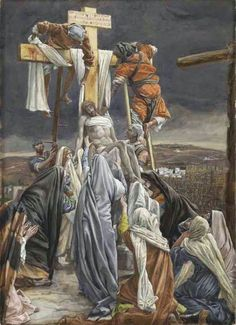 James Tissot The Descent from the cross. The Life of Christ series