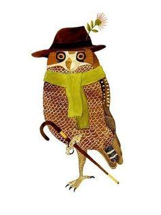 {Don Matias} stylish owl by Geninne