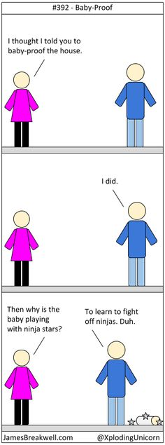 Baby-Proof ~ James Breakwell's Unbelievably Bad Webcomic