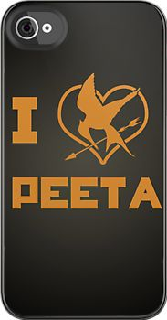I Love Peeta Mockingjay The Hunger Games Vinyl Decal Sticker Wht x White ---This decal is cut to be placed on the outside of the surface (glass, etc. Can cut it in a mirror cut to be place on the inside of a glass. Hunger Games Catching Fire, Hunger Games Trilogy, Cute Phone Cases, Iphone Cases, Iphone 4, Tribute Von Panem, Mockingjay, Fun Crafts, Things I Want