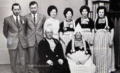 Gezin van Evert Smit (Jassie), visser, 1892-1977. #NoordHolland #Volendam