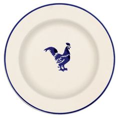 Emma Bridgwater Blue Hen collection.  Matches our china blue theme & it's alumni appropriate :)