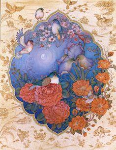 Persian miniature artists Mohhamad Aqamiri