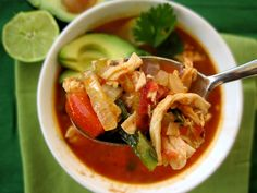 Chicken Tortilla Soup (Whole30)