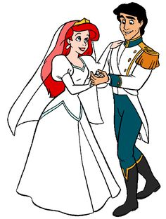 Ariel and Prince Eric's Wedding Dance