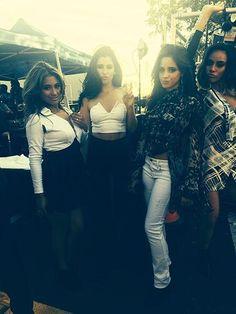 Ally - Lauren - Camila - Dinah - Fifth Harmony - VMAs