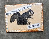 Who Runs The World Squirrels