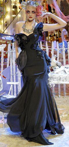 John Galliano Ready To Wear 2008  www.fashion.net