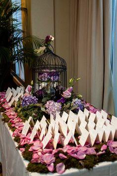 floral design, enchanted florist, dove photography, indoor wedding garden, @Caprice Palmer   The Enchanted Florist, purple wedding florals, #nashvillewedding,