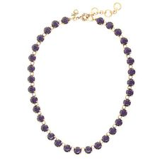 J.Crew - Swarovski crystal dot necklace