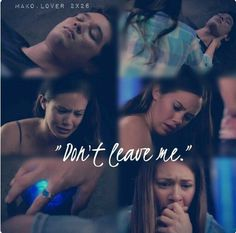 Mako Mermaids: Evie, Mimmi, Zac Don't leave me. This part worried me so much!!!