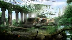 Postapocalyptic Level Design Concept by sirjoepanzer on DeviantArt