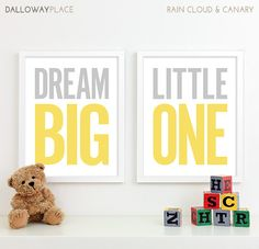 Baby Boy Nursery Decor Boy Nursery Art Kids by DallowayPlaceKids