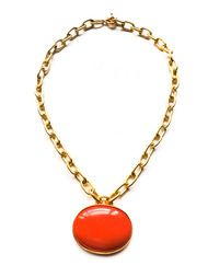 Catherine Canino Coral Lacquer Necklace