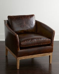 Hambert Leather Chair From Lee Industries At Horchow Where You Ll Find New Lower Shipping On Hundreds Of Home Furnishings And Gifts
