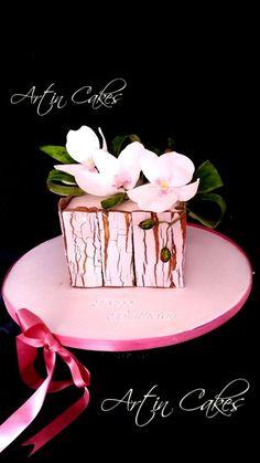 Phalaenopsis cake