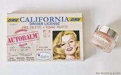 thebalm auto balm california face palette by terry baume de rose lip balm
