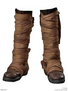 Wrapped boots