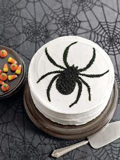 Una tarta elegante para Halloween / An elegant Halloween cake