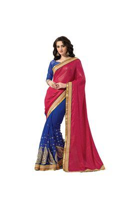 Buy Designer Zari Saree Online at Low Prices in India - Paytm.com