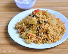 Anjappar style Chettinad biryani recipe using vegetables for Sunday lunch :)