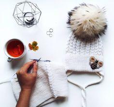Шапка и снуд из 100% мериносовой шерсти Winter Hats, Knitting, Handmade, Hand Made, Tricot, Breien, Stricken, Weaving, Knits