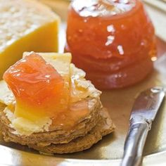 Quince (kweepeer) Preserve- according to an elderly women that I met, quince makes great jelly. She said it tastes like honey! Quince Fruit, Quince Jelly, Quince Recipes, Fruit Preserves, Jam And Jelly, South African Recipes, Liqueur, Food Processor Recipes, Sweet Treats