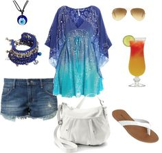 """""""My Hippy Summer Outfit"""" by fia-witch on Polyvore"""