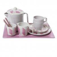Dukke-testel, pastel rosa